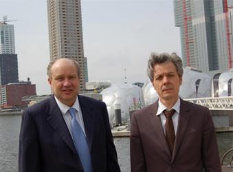 (L) Mr. Eric Meijer, (R) Peter Baldé